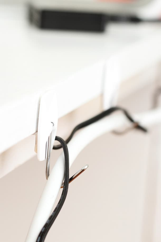 Move cords to baby proof your home