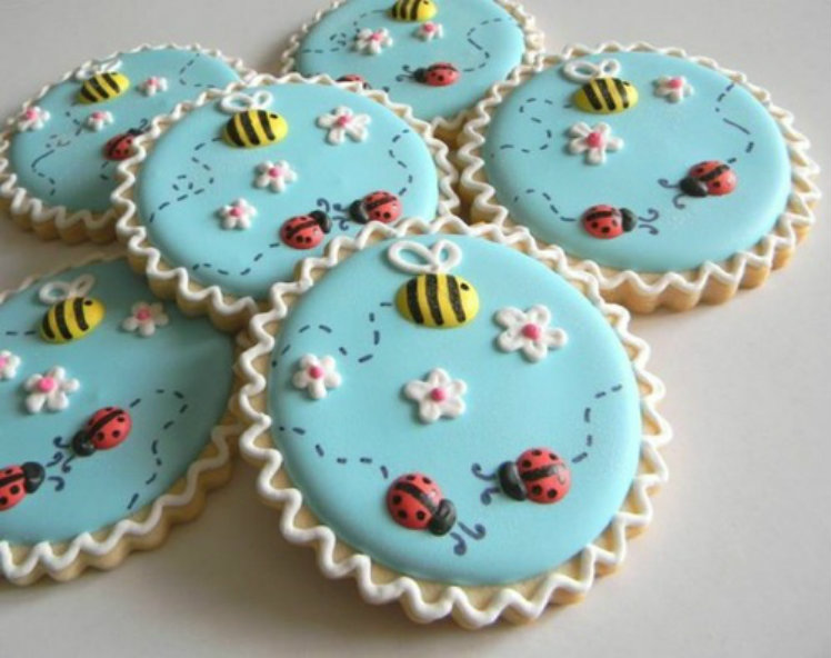 Bring on the Bugs Spring Cookies