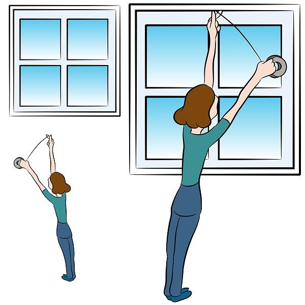 Check window seals