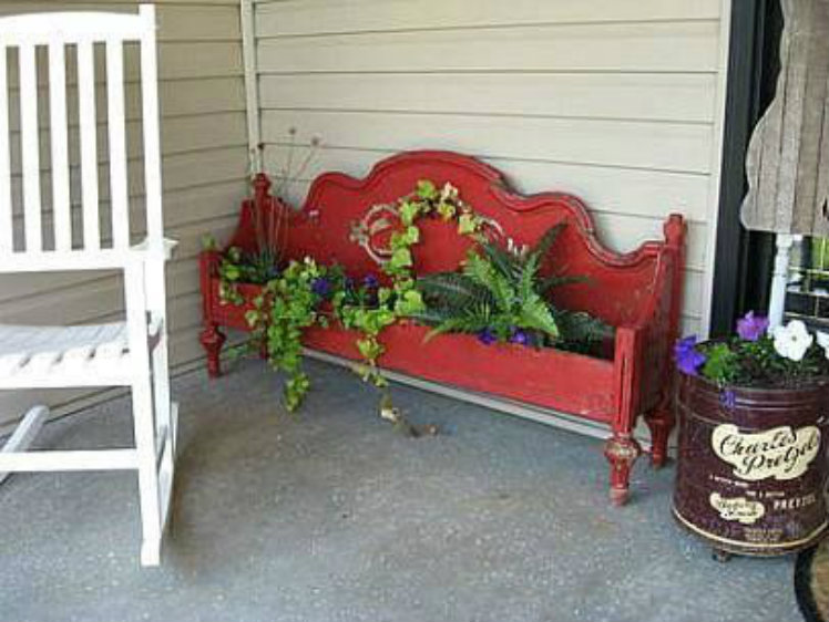 Headboard Flower Bed