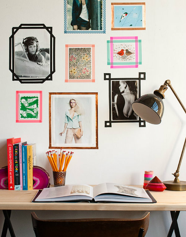 Homemade Picture Frames