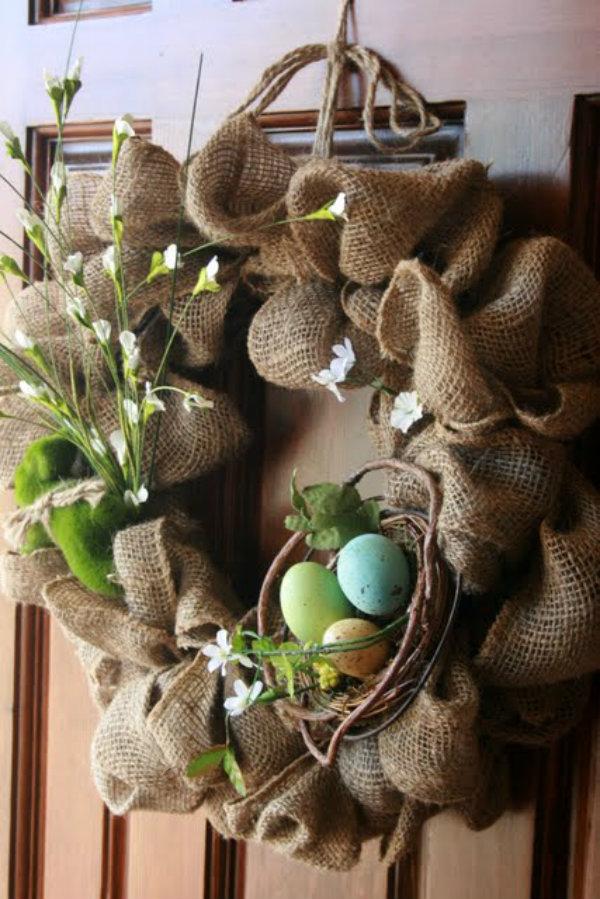 Make a rustic wreath