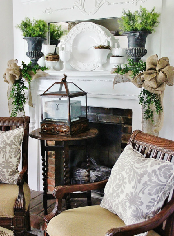 Make your mantle a masterpiece
