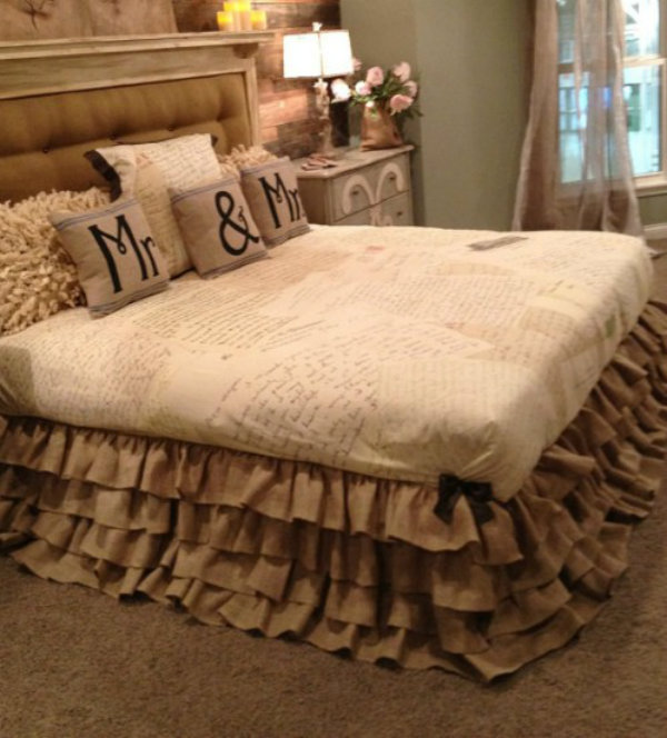 Re-design the throw pillow