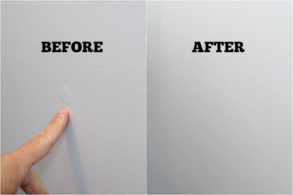 fix walls before painting