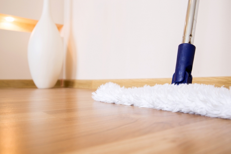 Discover how to make cleaning hardwood flooring easier