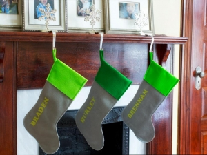 Felt Name Stockings