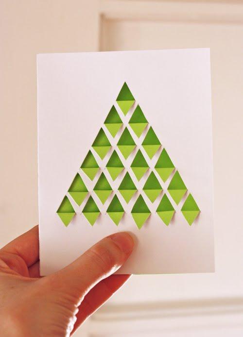 Geometric cards