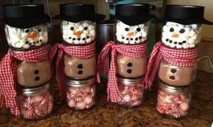 Hot Chocolate Snowmen