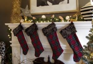 Plaid Stockings