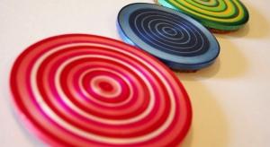 Ribbon Coasters