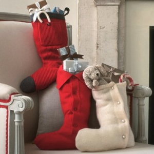 Festive DIY Christmas Stockings You Can Make For Your Family Including a Sweater Stocking