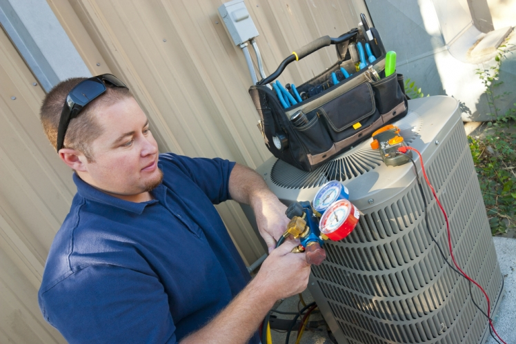 What are the various types of the HVAC systems?