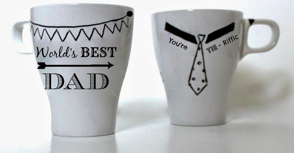 Father's Day Sharpie Mugs