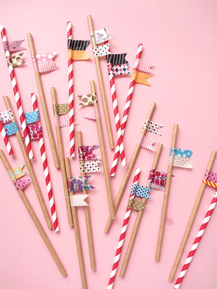 Flag straws