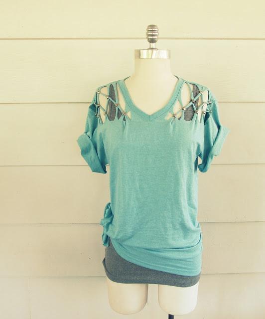 Lattice tshirt