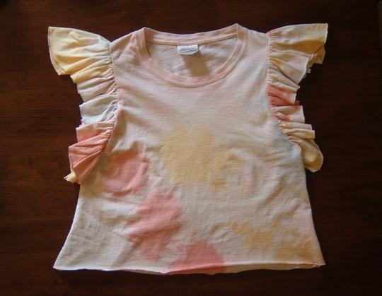 Ruffle t shirt