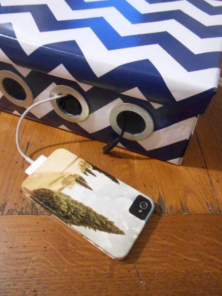 Shoebox charger