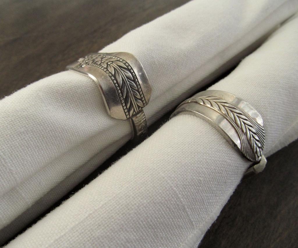 Silverware Napkin Rings