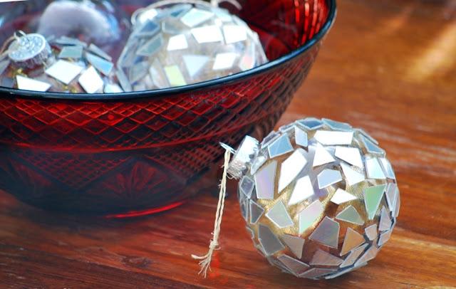 christmas ornament cd