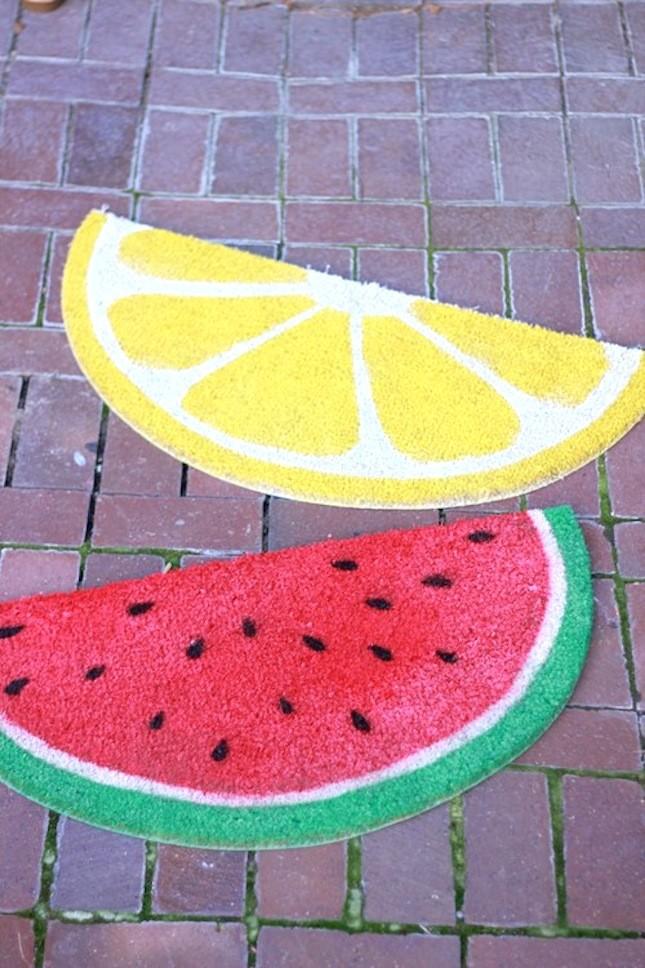 fruit doormat