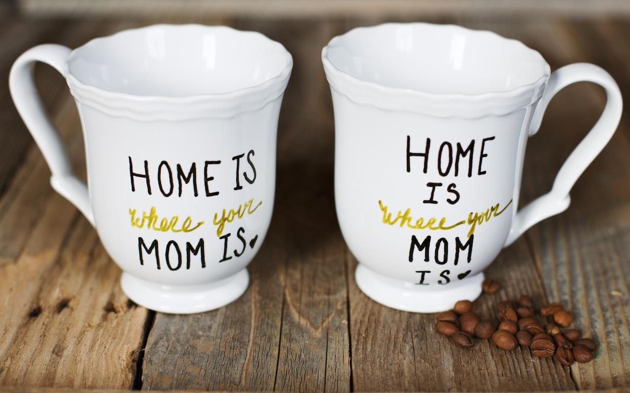 12 Mugs For Mother S Day: Brilliant DIY Sharpie Mug Ideas
