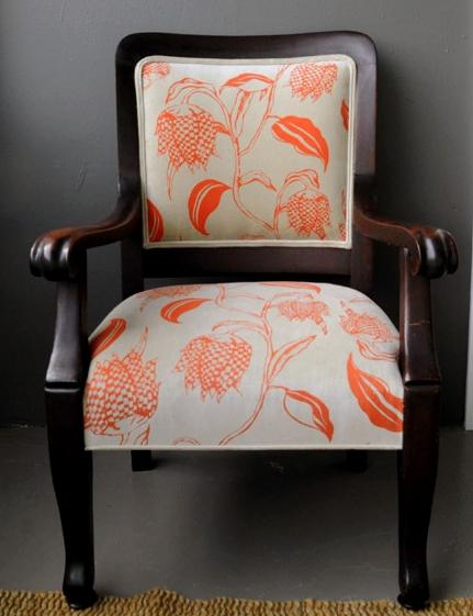 screen printed chair