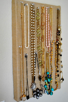shoebox jewelry organizer