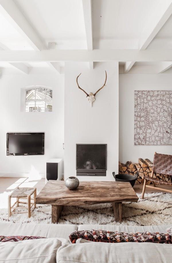 scandinavian textures and materials