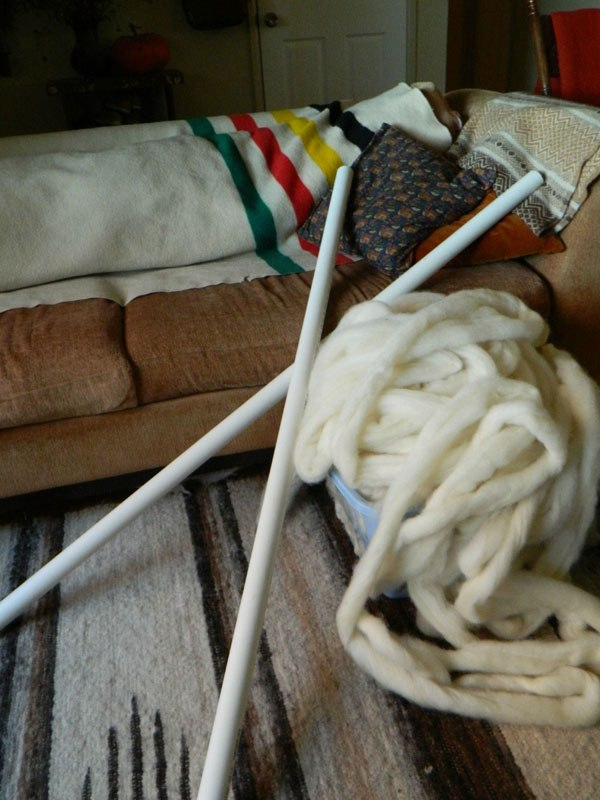 Creating your knitting needles