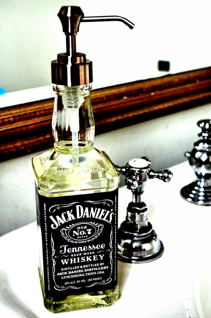 Whisky Soap Dispenser