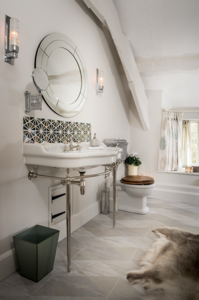 Country Cottage Shower Room