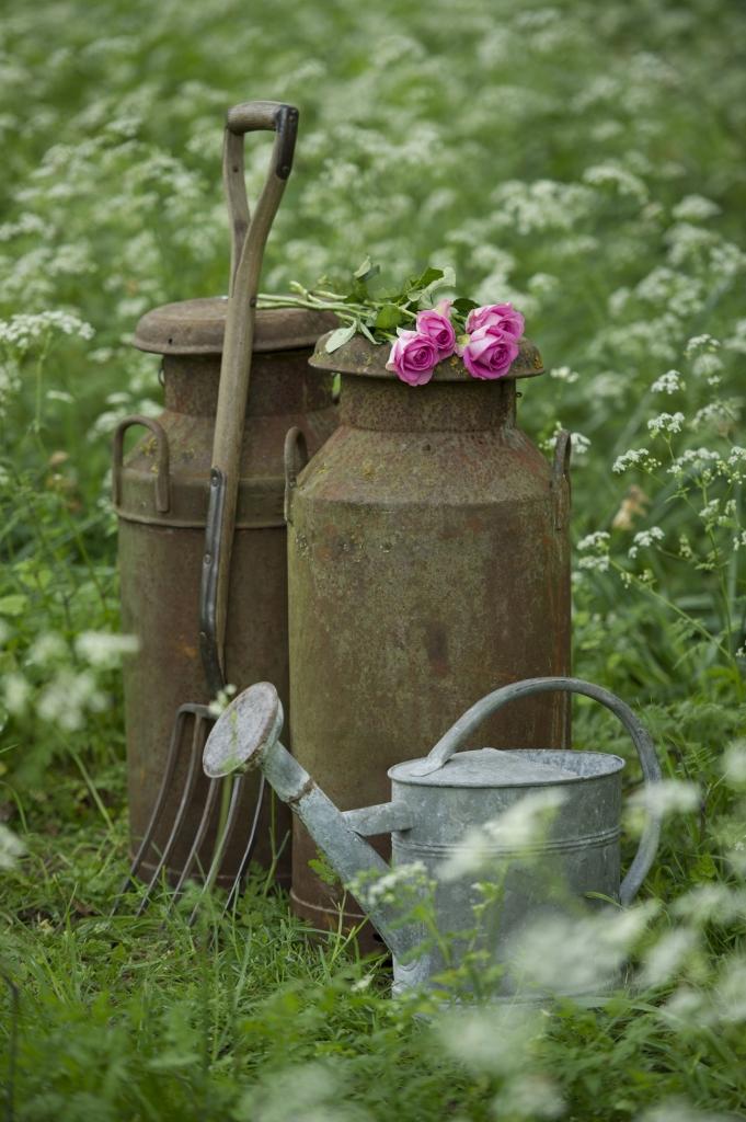 Incorporate Vintage Garden Accessories