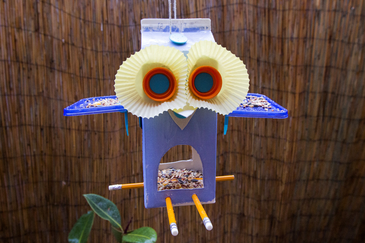Owl Bird Feeder