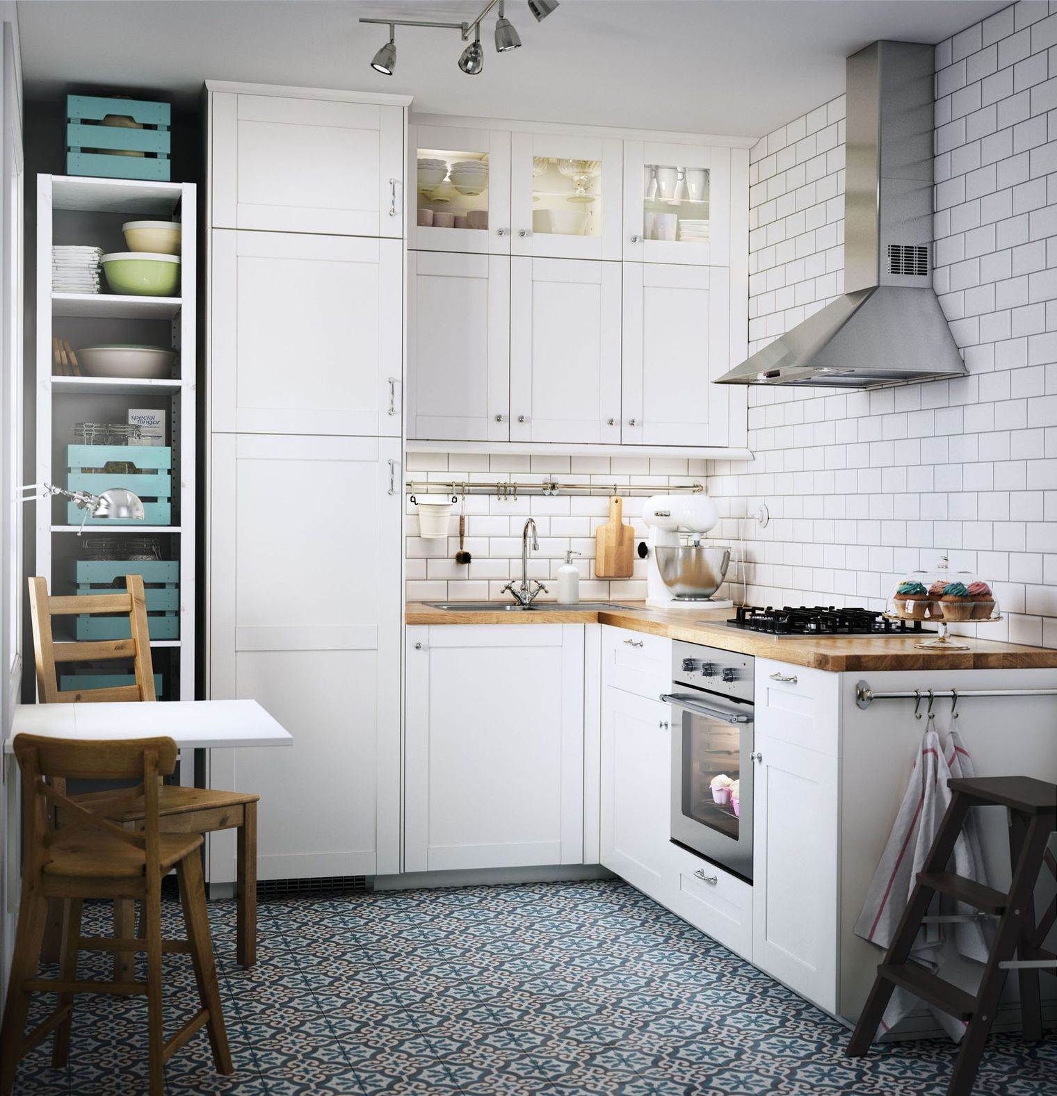 51 Small Kitchen Design Ideas That Make The Most Of A Tiny: 16 Small Kitchen Design Ideas