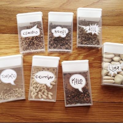 Tic Tac Seed Saver
