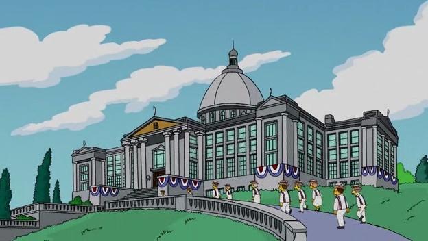 #6 Burn's Manor, The Simpsons