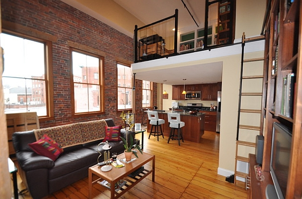 An elevated loft