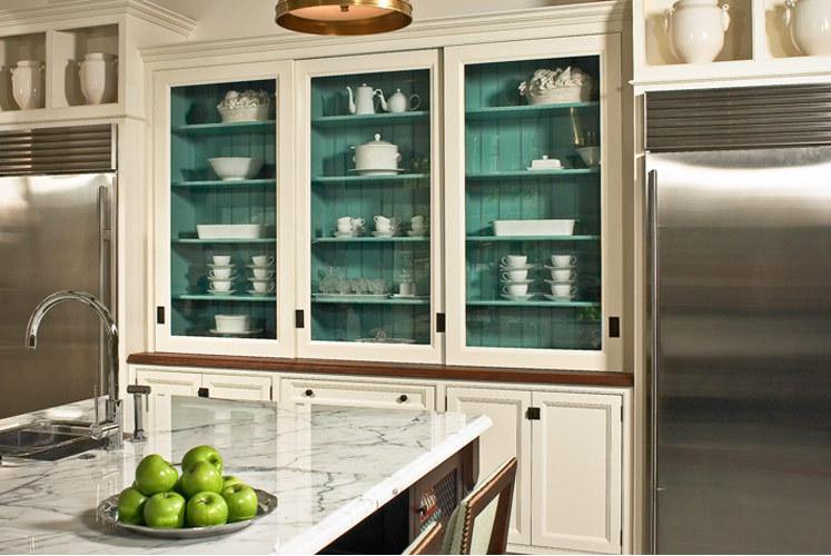 paint inside cupboards