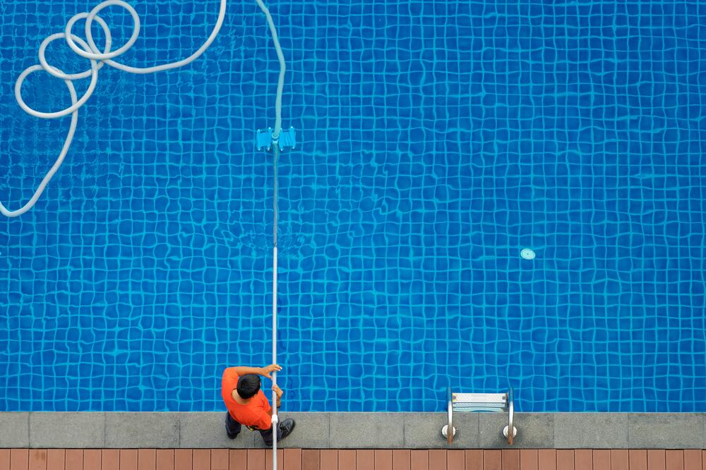 #3 Vacuum the Pool