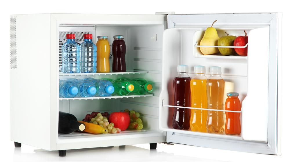 #4 Mini fridge
