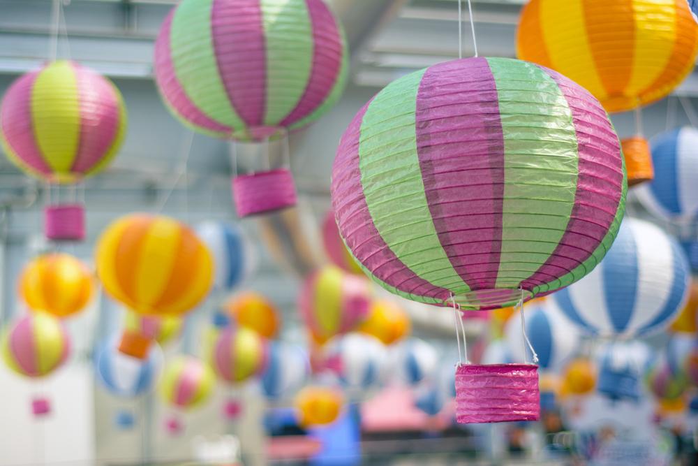 #2 Paper Lantern Hot Air Balloon