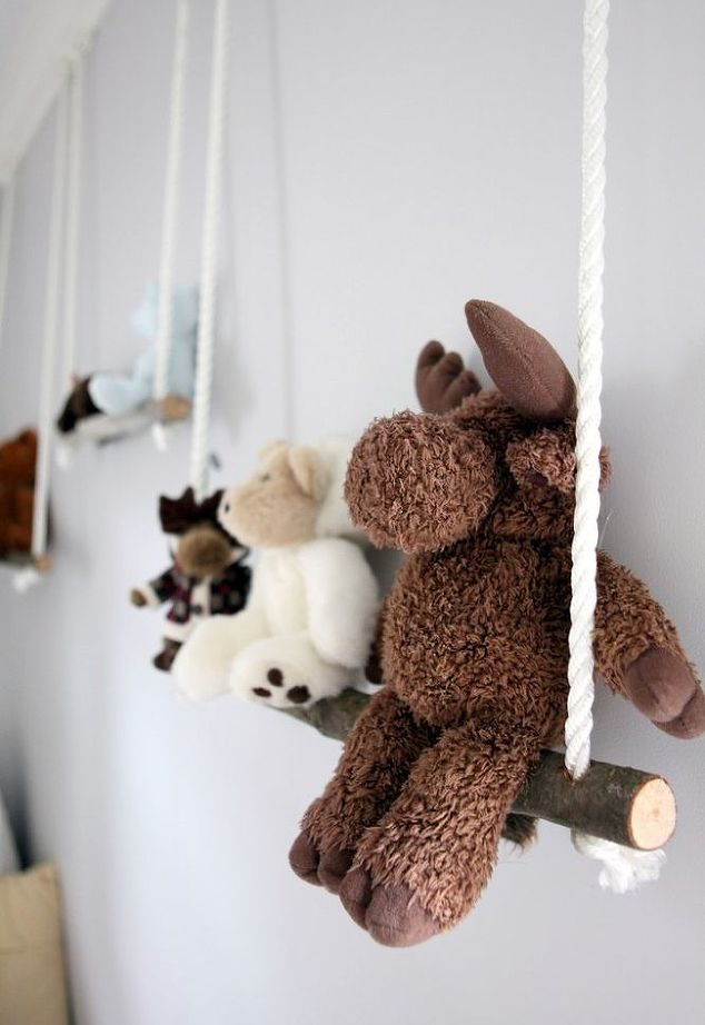 branch swing shelf