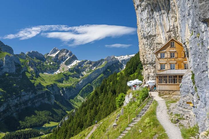 Aescher, Wildkirchli, Altmann, Alpstein