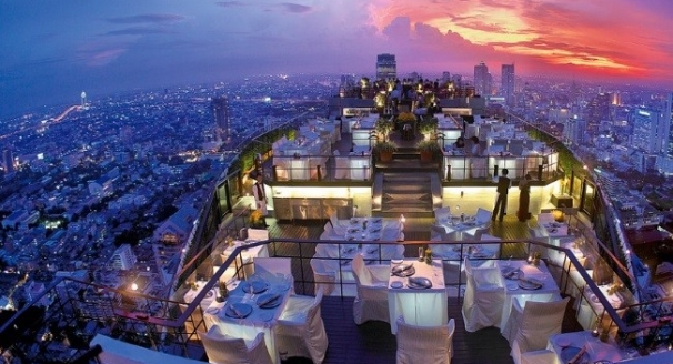10 Restaurants with Insanely Beautiful Views