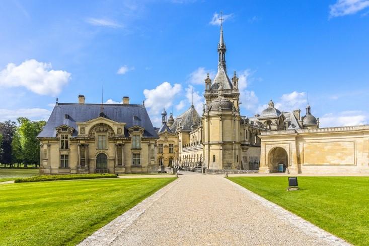 chantilly castles
