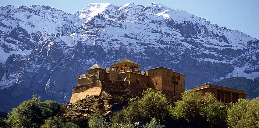 Kasbah Du Toubkal Hotel, Morocco