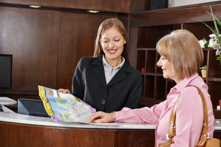 Make friends with the concierge