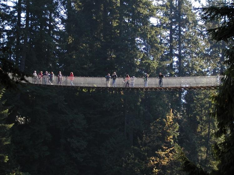 Capilano Suspension Bridge, North Vancouver, British Columbia