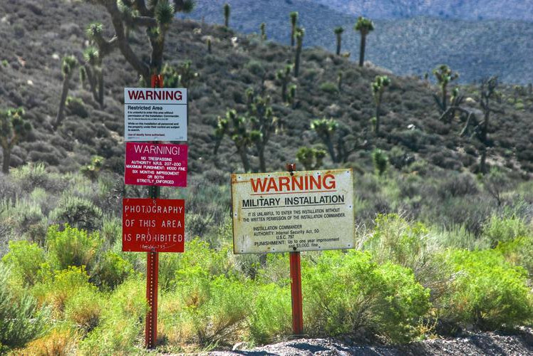 Area 51, Nevada, USA